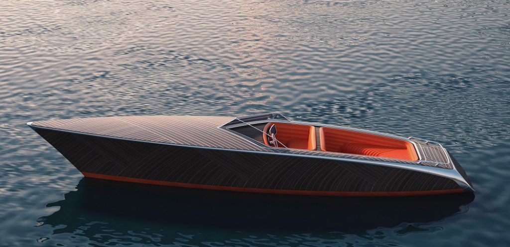 The Zebra Electric Wooden Boat