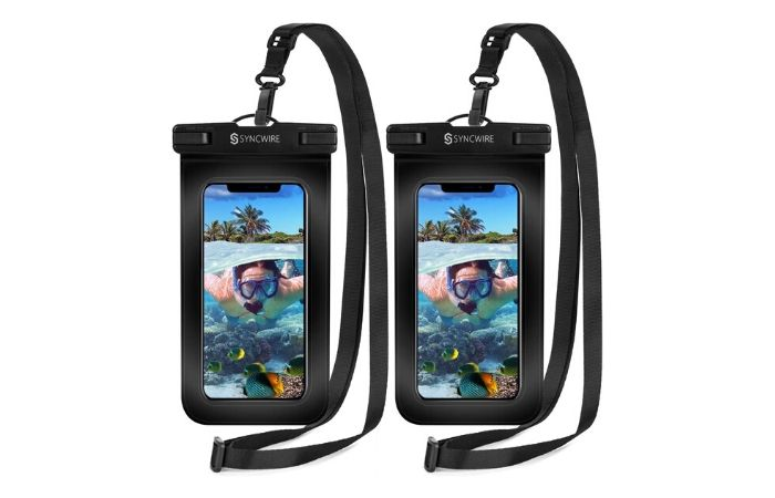 Waterproof Lanyard Phone Pouch