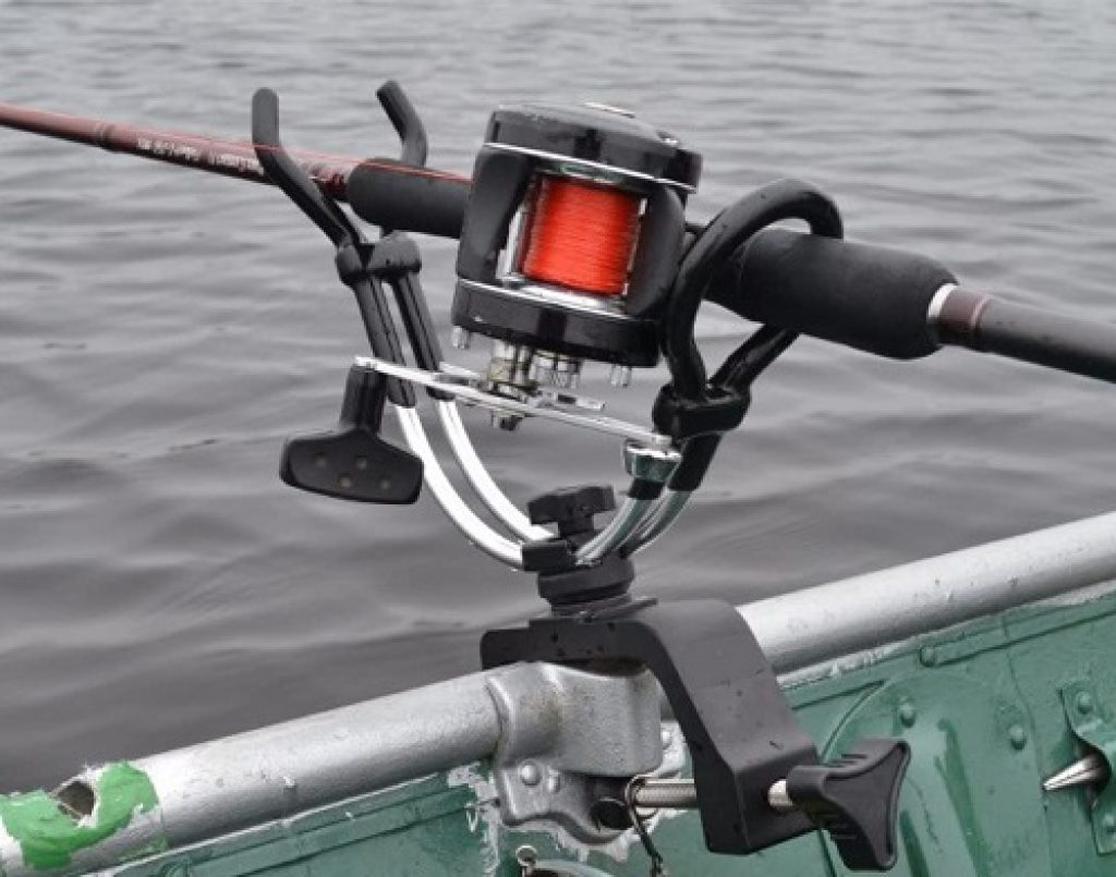 Fishing Rod Holder with Clamp