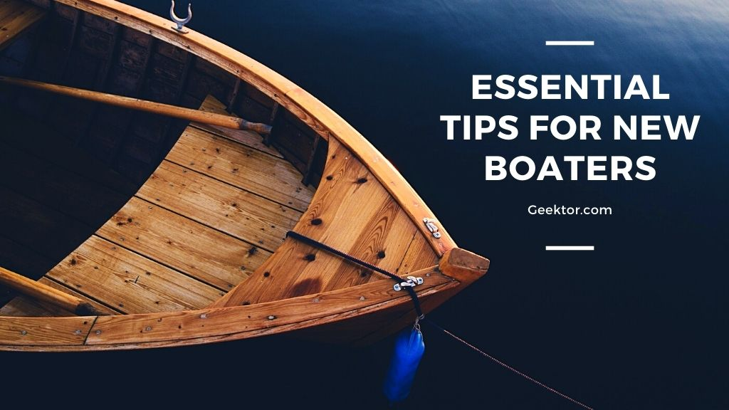 Tips for New Boaters